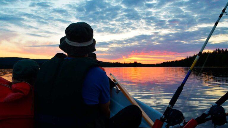 Kalastus-Tahkolla